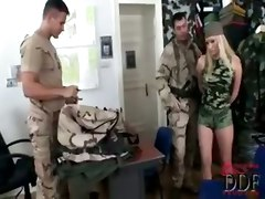 blonde blowjob mmf anal euro big tits dp toys cumshot facial