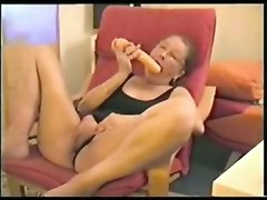 masturbation orgasm amateur german wife mature granny glasses toys dildo homemade pov solo natural orgasm