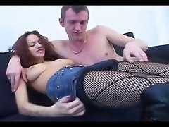 redhead russian creampie blowjob internal cumshot deepthroat face fuck gagging handjob pussylicking tight teasing european lingerie stockings fingering tattoo fishnet piercing doggystyle