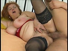 BBW Matures Stockings