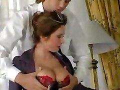 stockings mature milf brunette bigtits realtits sex blowjob cumshot titfucking lingerie