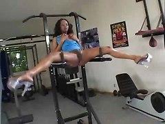 Sporty  Black Lady