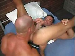 muscles hairy police gay jail