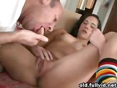Old Man And Hot Teen