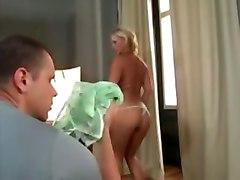 ellen saint strip pornstar blonde pov blowjob ass anal