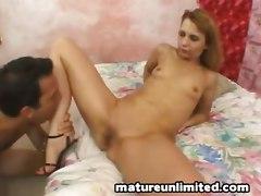 mature anal dildo cum shot facial small tits