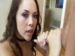 kristina rose deepthroat gagging rough swallowing