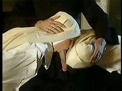 threesome nun uniform blowjob dick anal sucking public