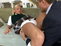 schoolgirl step dad teenie