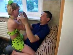 Hot Russian family breaks all taboos in this incestual scene