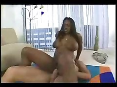 Black and Ebony Busty Squirting