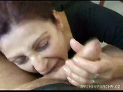 cumshot facial fucking milf blowjob amateur homemade mature jizz mom street granny money paid