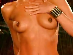 bikini brunette striptease tight wet teasing wet pornstar small tits solo softcore ass dancing babe female friendly