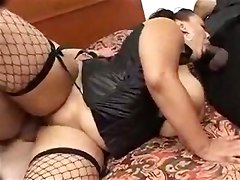 bww stockings blowjob lingerie chubby dick sucking fucking