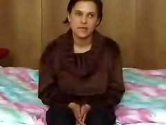 Young Latvian Amateur Is Seduced on Camera  Part 1