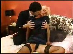 stockings cumshot hardcore blonde blowjob bigtits pussylicking pussyfucking classic retro vintage