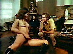 Classic 70s John Holmes Group Sex Classic Storyline Hairy
