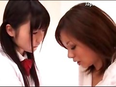 Young Schoolgirl In Uniform Getting Her Pussy Licked By Her Teacher In The Bedroom