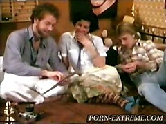 anal cumshot blowjob threesome asstomouth doublepenetration hairypussy pussyfucking classic retro vintage