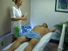 cumshot hardcore blonde oiled blowjob handjob fingering pussyfucking massage
