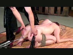Bdsm Bondage Fetish Spanking Mature Babe Blonde Machine Toys DildosMature Babes Extreme