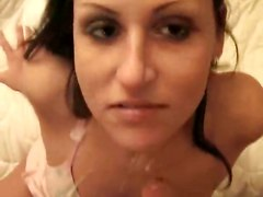 Homemade Amateur Girlfriend Sucking BlowjobcumshotHardcore Cum Amateur BJ HJ