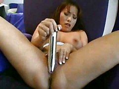Asian Busty Masturbation