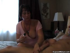 Busty Handjobs MILFs