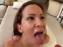 Yet Another Teen Facial Compilation