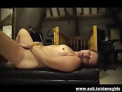 Good spanking and bondage for my submissive slave