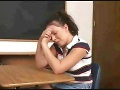 Dominant Lesbian Teacher Gives A Strapon Lesson