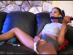 ebony teen pussylicking pigtails wet teasing rubbing panties tight piercing couch blowjob ass licking rough hardcore riding cumshot squirting fetish doggystyle big dick orgasm facial big tits natural reality latina squirt