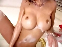 bigtits solo asian faketits bath photoshoot dee francine