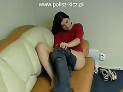 Polish Porn MasturbationAmateur Solo Home made