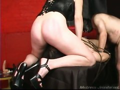 Femdom Strapon Gay Ass Fucked Mistress JenniferOther Fetish Feet Extreme Spanking