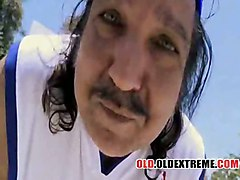 teen grandpa old harcore ron jeremy geezer