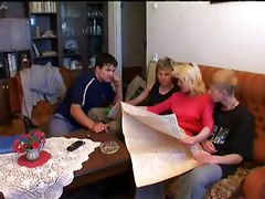 Group sex with mom son and his friends