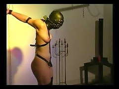 Slave Cat torture bondage PART 1