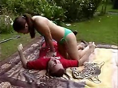 asian european bikini public outdoor softcore fetish couple reality teen