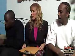 MILF Nicole Moore gets gangbanged by blacks