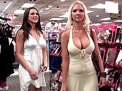 blonde  brunette  dress  big tits  stylish  beautiful tits  beautiful ass  fun  upskirt  strapon  lesbian  milf  lick  spread legs  long legs  beautiful legs Molly  Misty