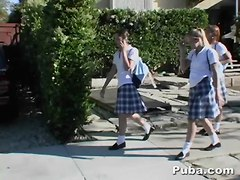 School Girls Share The After School Special