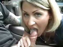 Amateur Handjob Blowjob Blonde Outdoors CarAmateur BJ HJ POV Public   Out Door