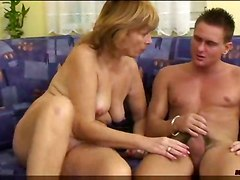 hardcore couch mature granny chubby hairy blowjob