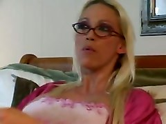 nicki hunter milf mom big tits blonde threesome blowjob anal dp cumshot
