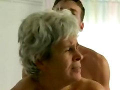 old mom have sex with son
