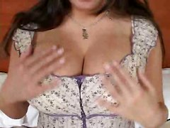 pornstar brunette big tits teasing striptease rubbing natural blowjob pov handjob tittyfuck panties masturbation pussy close up hardcore riding doggystyle wet cumshot facial