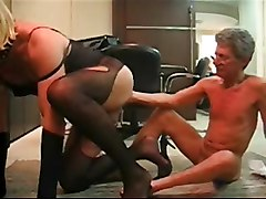 crossdresser amateur fisting ass pantyhose