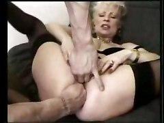 Femmes soumises Matures 2 mecs 1 fille Double penetration Bondage Ejac interne