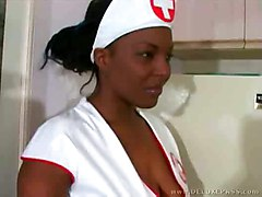 cumshot black hardcore blowjob bigtits ebony blackwoman nurse bigass